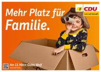 Landtagswahl Baden-Württemberg 2016 – Großflächenplakat CDU