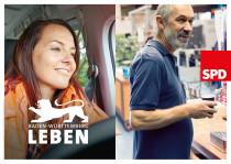 SPD – Plakat zur Landtagswahl in Baden-Württemberg 2016