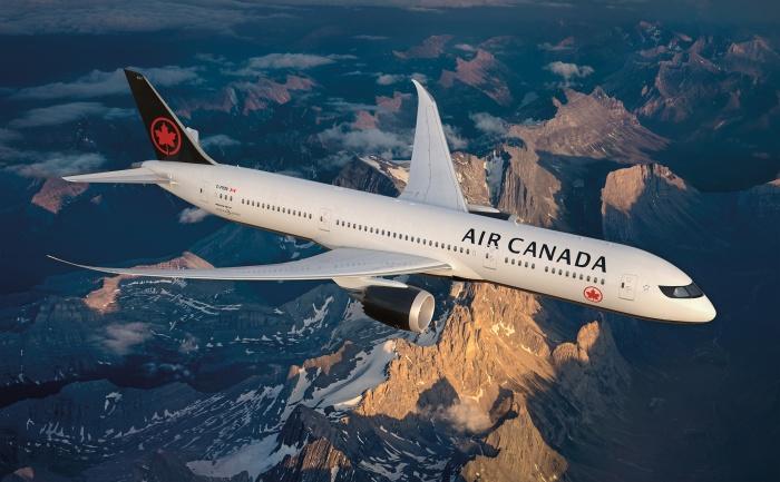 Air Canada im neuen Design