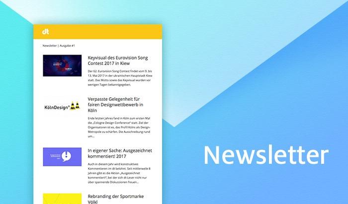 in eigener Sache: Design-News gibts nun auch per Mail