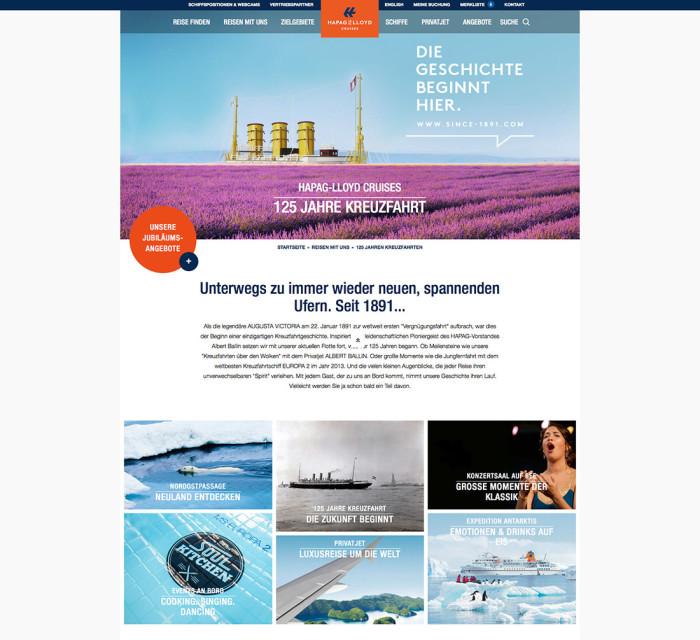 speziell für Schuh tolle Preise Rabatt Hapag-Lloyd Cruises – Website – Design Tagebuch