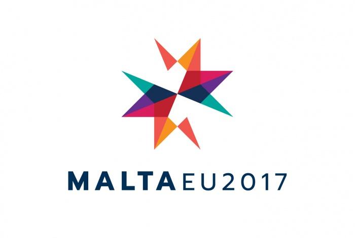 Logo der maltesischen EU-Ratspräsidentschaft 2017