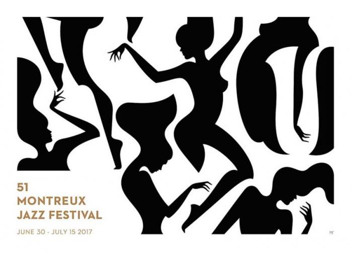 Plakat des Montreux Jazz Festival 2017