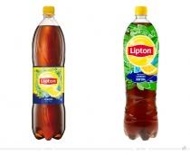 Lipton Ice Tea Lemon 1.500 ml Flasche – vorher und nachher