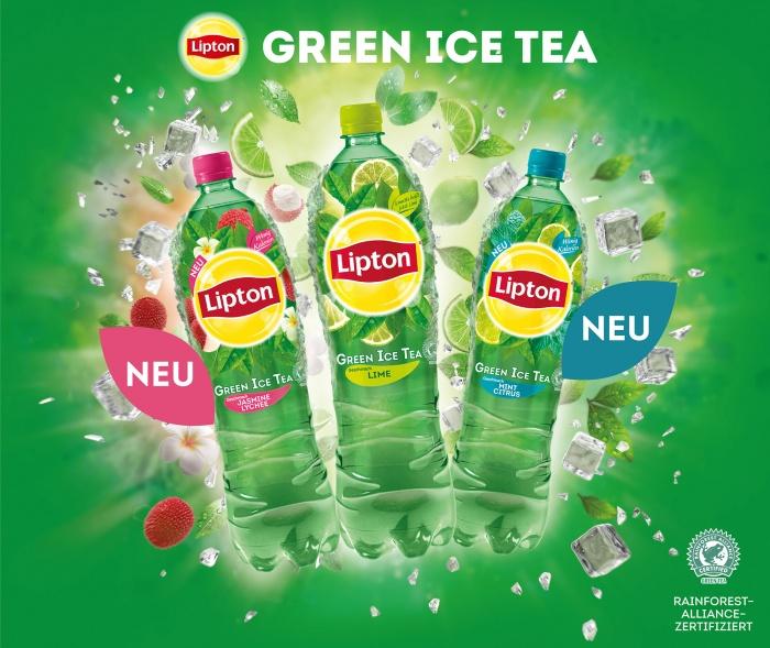 Lipton Green Ice Tea Keyvisual