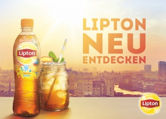Lipton Relaunch Key Visual