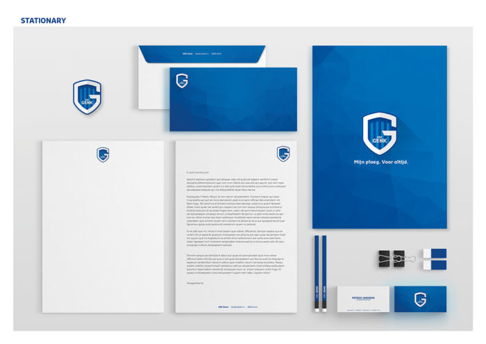 KRC Genk Corporate Design