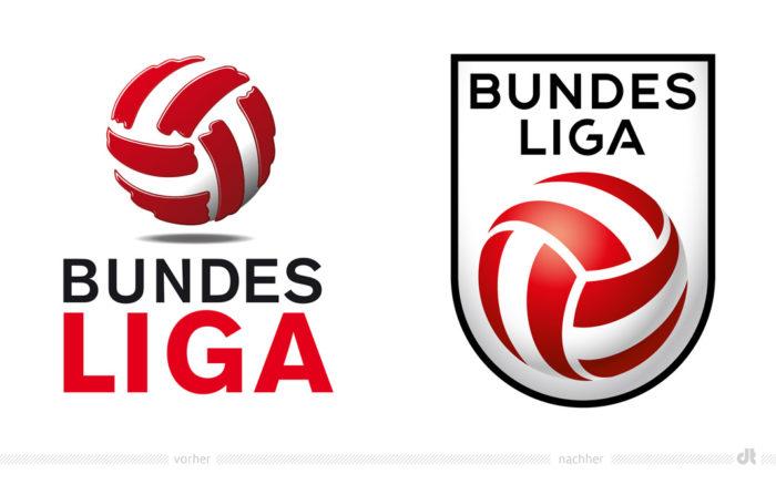 Bundesliga Österreich Logos – vorher und nachher