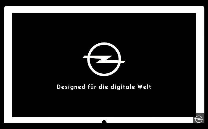 """""""Designed für die digitale Welt"""" – Opel"""