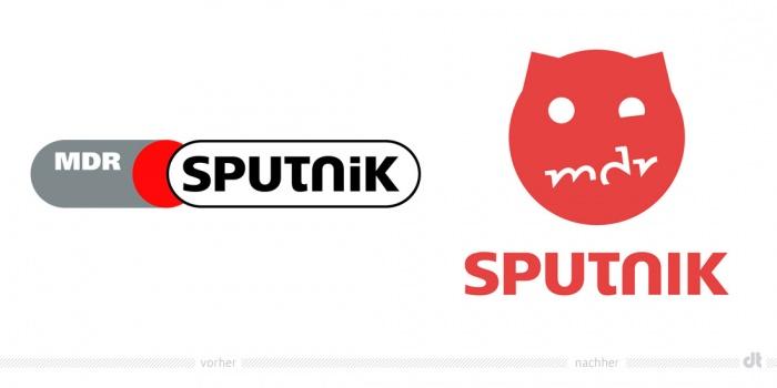 MDR Sputnik Logo – vorher und nachher