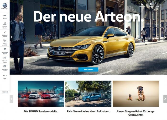 Volkswagen.de Redesign (2017)