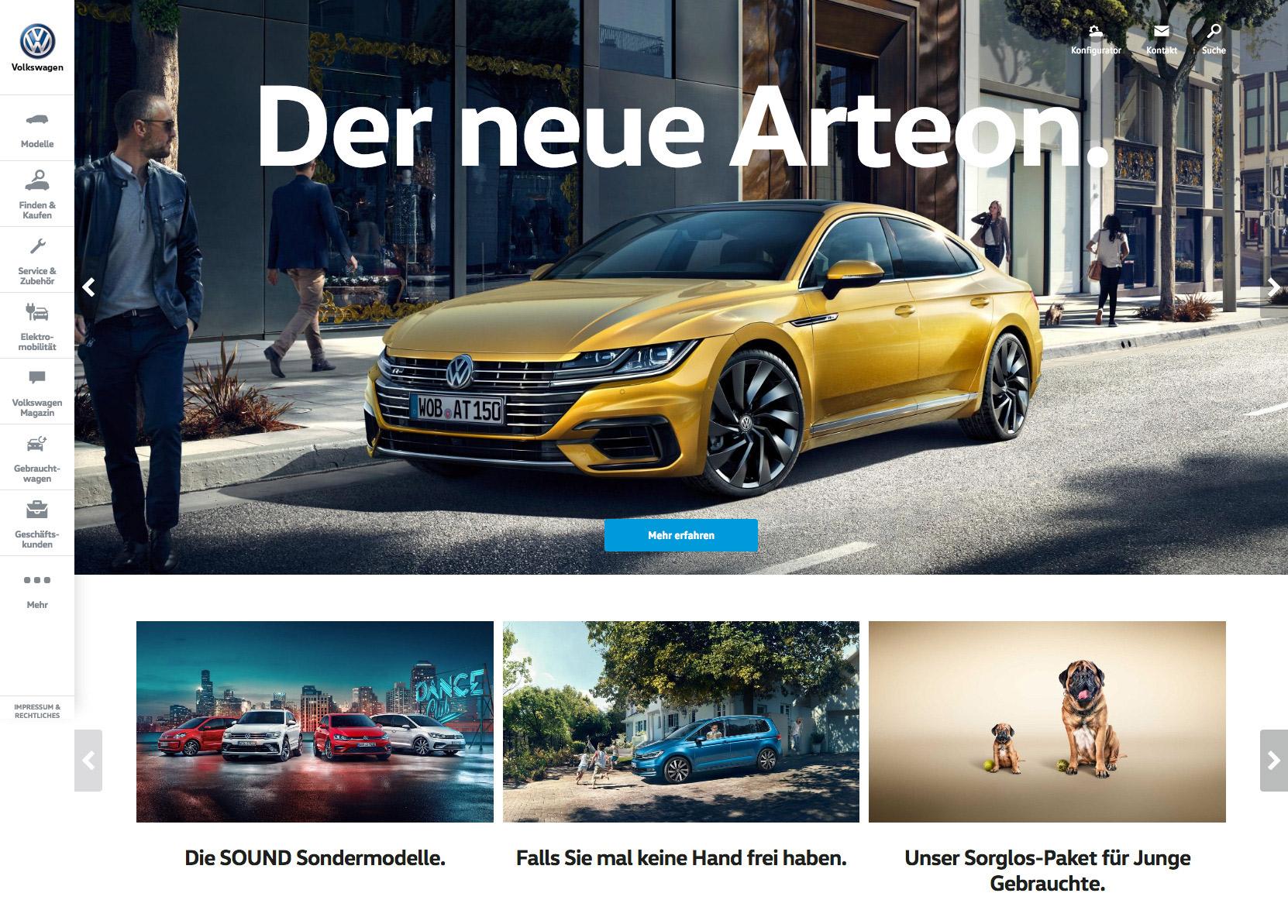 Volkswagen.de