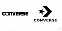 Converse Logo – vorher und nachher