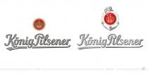 König Pilsener Logo – vorher und nachher