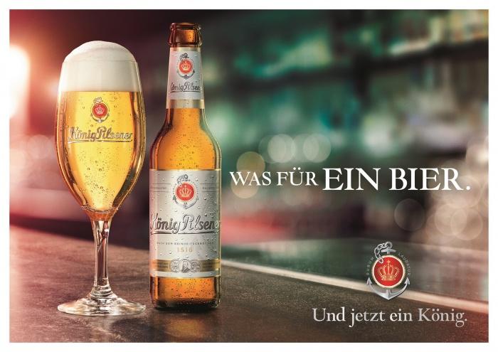 König Pilsener Neue Flasche