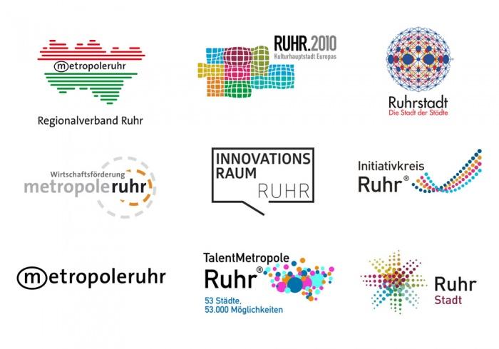 Ruhrgebiet Logos