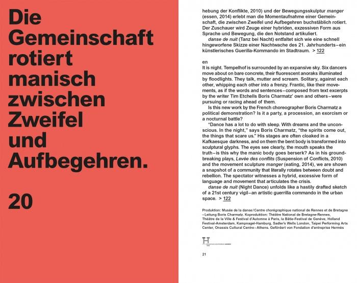 Berliner Volksbühne Programm