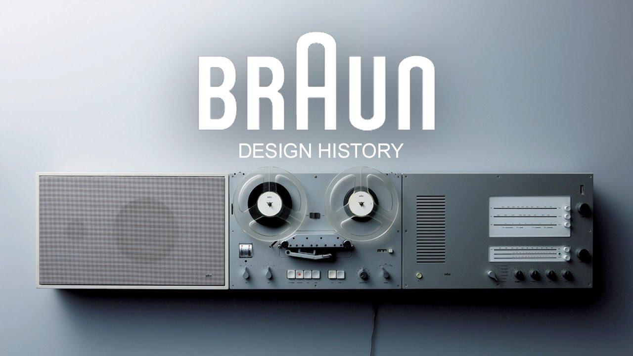 Braun Designgeschichte