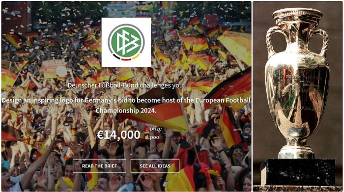 Designwettbewerb für das Bewerbungslogo zur EURO 2024