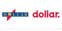Dollar Dollar Rent A Car Logo – vorher und nachher
