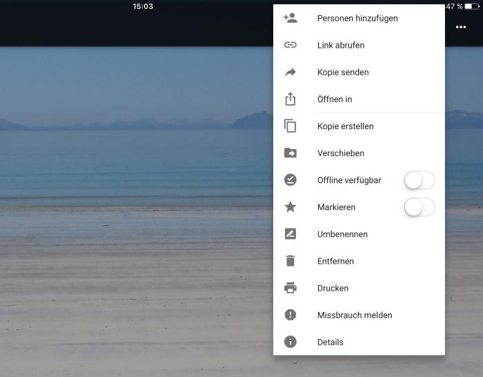 Google Docs (iOS)