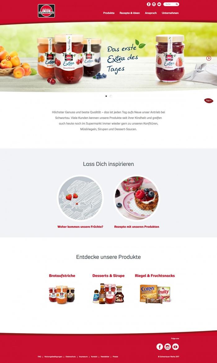 Schwartau Werke Website