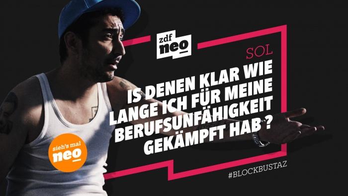 ZDFneo Neues Design – BLOCKBUSTAZ