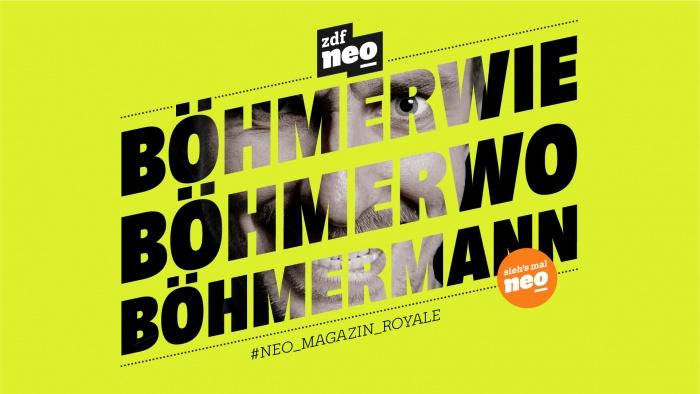 ZDFneo Neues Design – BÖHMERANN