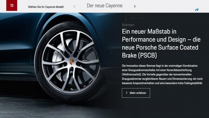 Typo PorscheNext