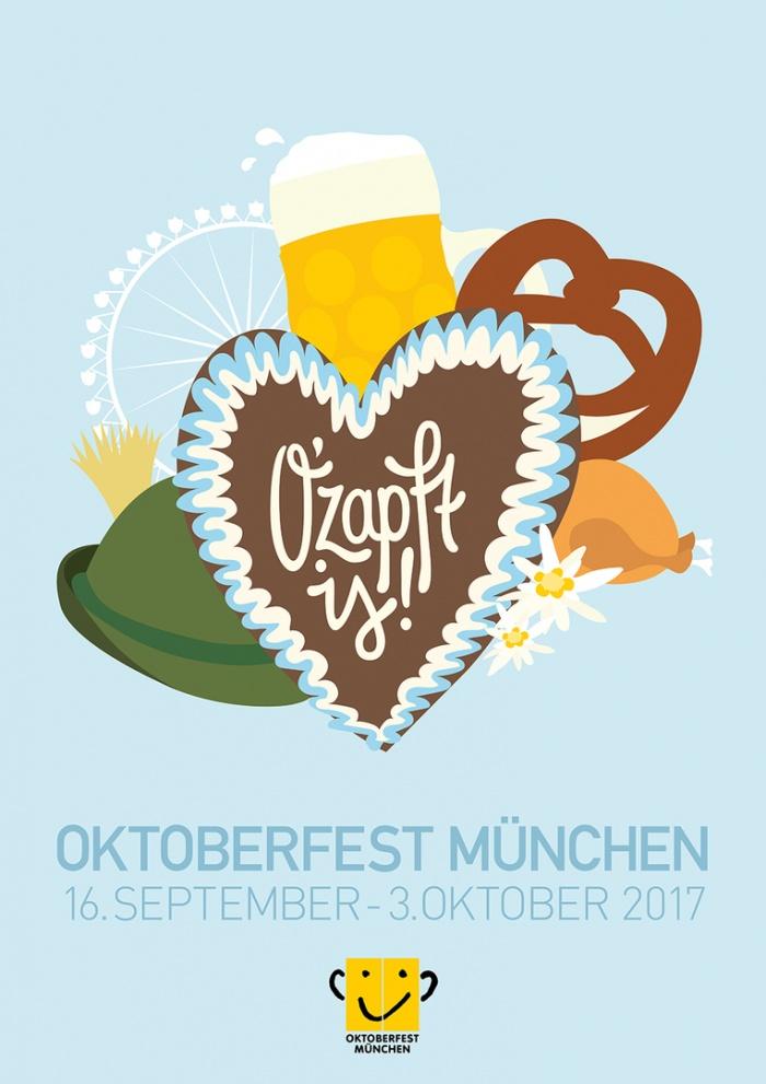 Das Plakat zum Oktoberfest 2017