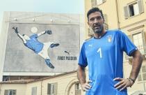 Buffon im neuen Trikot, Turin