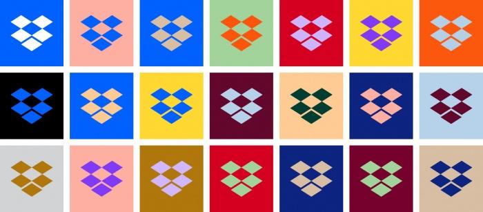 Dropbox new logos
