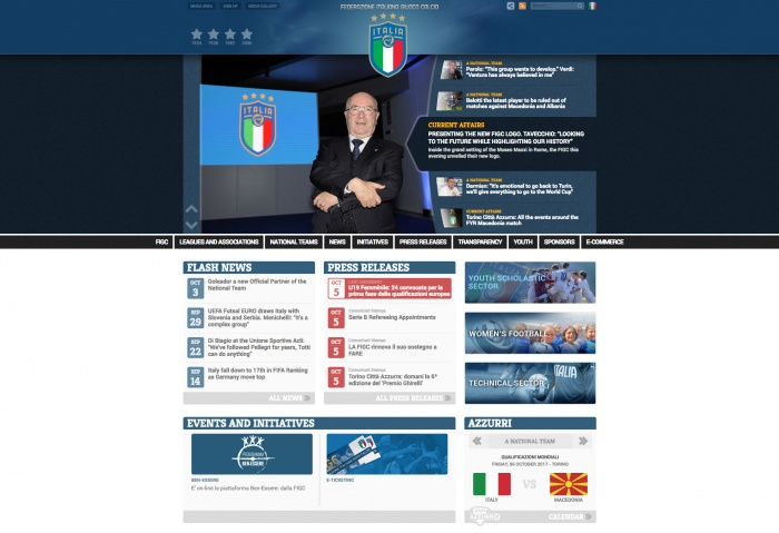 FIGC Website