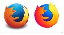 Firefox Logo – vorher und nachher
