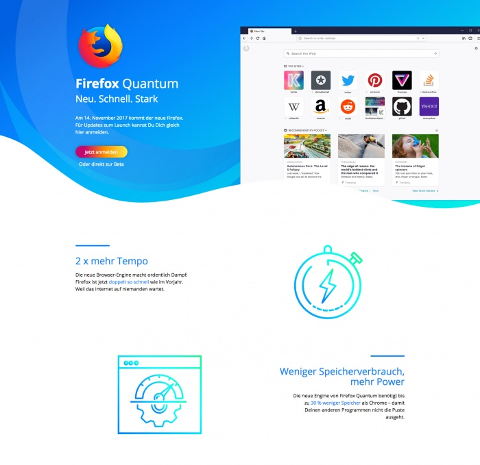 Firefox Website