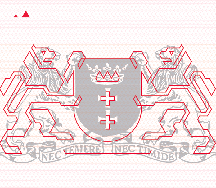 Gdańsk Logo Architektur, Quelle: brandingmonitor.pl