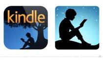Kindle App Icon – vorher und nachher