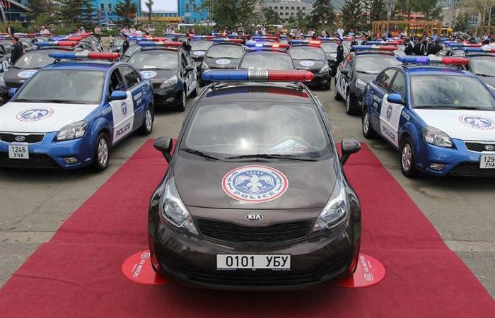 Polizei Auto Mongolei