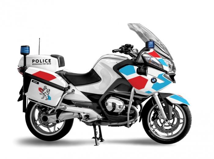 Polizei Luxemburg Motorrad