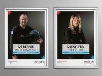 Polizei Luxemburg Plakate