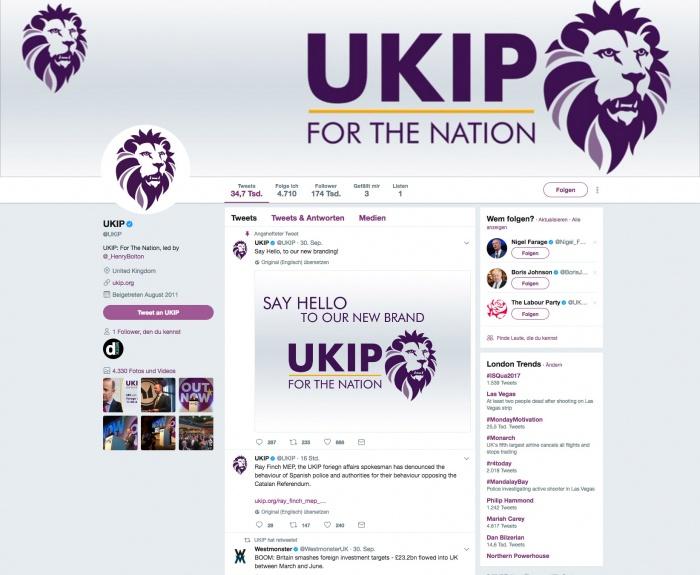 UKIP Twitter
