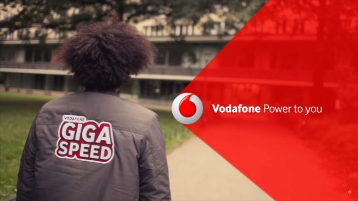 Vodafone Giga Speed – Anzeigengestaltung (bis 2017)