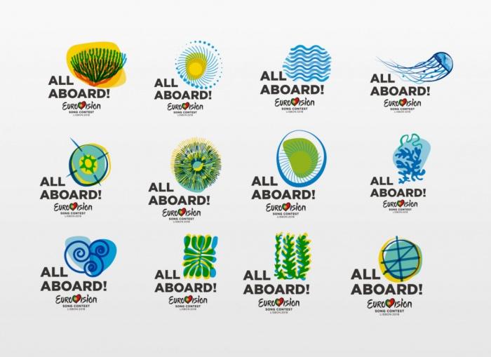 ESC 2018 – All Aboard Logos