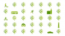 Raleigh Corporate Design Iconography