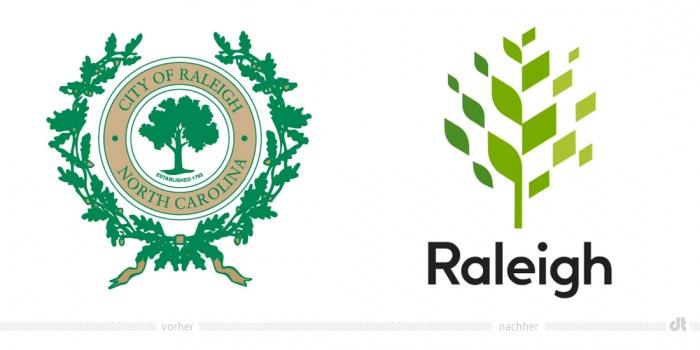 Raleigh Logo – vorher und nachher