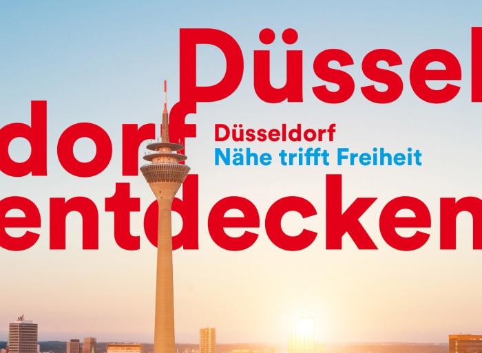 """""""Nähe trifft Freiheit"""" – Düsseldorf erhält einen neuen Markenauftritt"""
