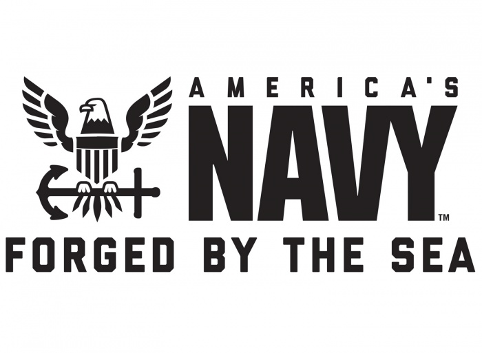 NAVY Logo – Forged By The Sea