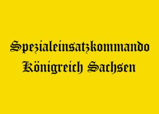 Spezialeinsatzkommando Königreich Sachsen