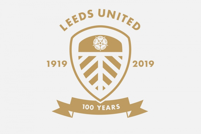 Leeds United Badge 100 Years, Quelle: Leeds United