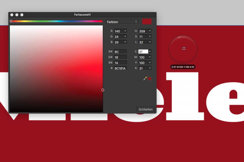 Miele Farbton Rot Design Tagebuch